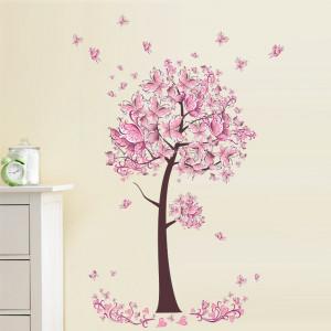 Sticker perete Butterflies Tree