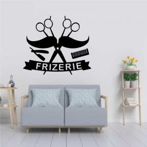Sticker perete Frizerie 8