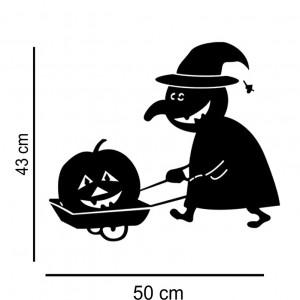 Sticker perete Halloween Decor 6