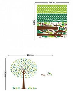 Sticker perete Happy Tree