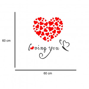 Sticker perete Loving You