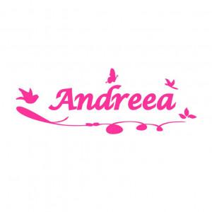 Sticker perete personalizat My Name Girl 1