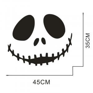 Sticker perete Scary Face