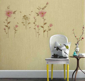 Sticker perete Scenery Flowers 60x90 cm