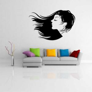 Sticker perete silueta Femeie 9