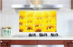 Sticker perete SunFlower Kitchen Decor