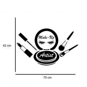 Sticker perete Trusa de Machiaj 1