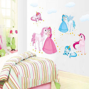Sticker perete Unicorns