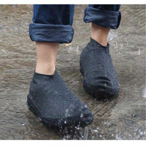 Protectie incaltaminte ploaie Negru L