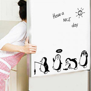 Sticker frigider Pinguini