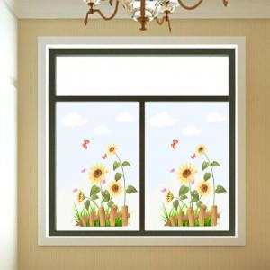 Sticker geam floarea soarelui 2