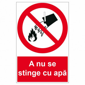 Sticker indicator A nu se stinge cu apa