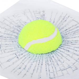 Sticker masina Watch out! Tennis Ball 17x17x3 cm