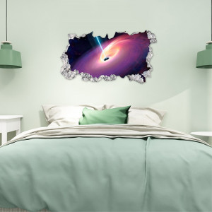 Sticker perete 3D Galaxy