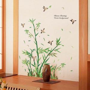 Sticker perete Bambus