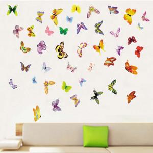 Sticker perete Butterflies on the wall