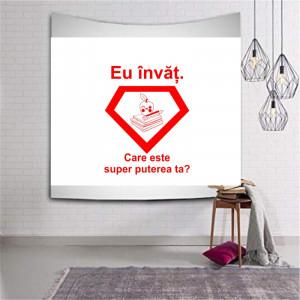 Sticker perete Care este Puterea Ta