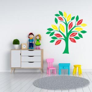 Sticker perete Copacul Bunelor Maniere