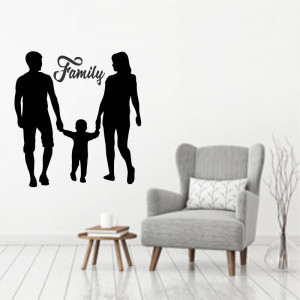 Sticker perete Family 2