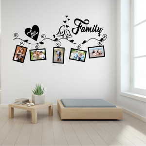 Sticker perete Family Love (5 rame foto)