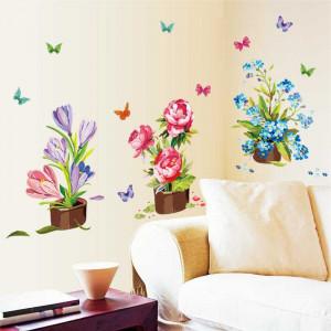 Sticker perete Flori de Primavara
