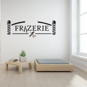 Sticker perete Frizerie 2