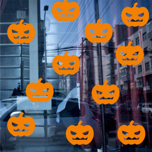 Sticker perete / geam Pumpkins