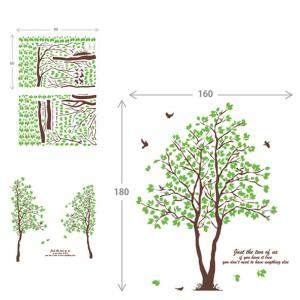 Sticker perete Green Forest