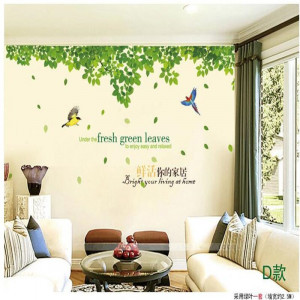 Sticker perete Green Vines