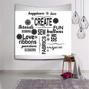 Sticker perete Love Fashion