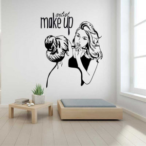 Sticker perete Make Up Artist 1