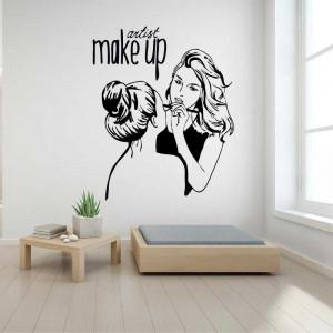Sticker perete Make Up Artist 1