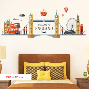 Sticker perete Welcome to England