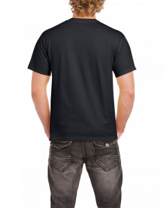 Tricou personalizat barbati negru Actioneaza Responsabil S