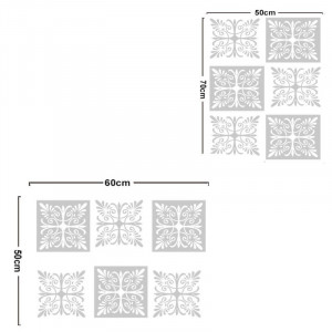 Sticker decorativ White Lace 6 buc / set