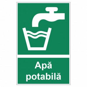Sticker indicator Apa potabila 1