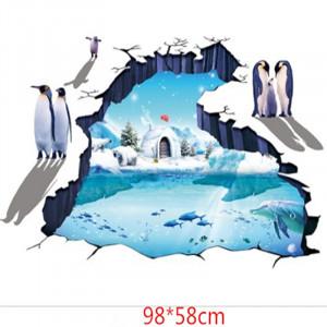 Sticker perete 3D Antarctica