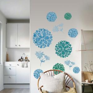 Sticker perete Blue Flowers