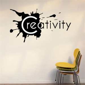 Sticker perete Creativity