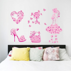 Sticker perete Fashion Butterflies