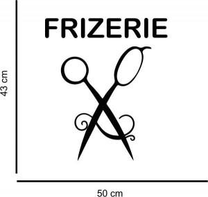 Sticker perete Frizerie 5