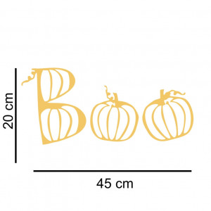 Sticker perete / geam Boo Pumpkins