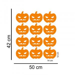 Sticker perete / geam Pumpkins