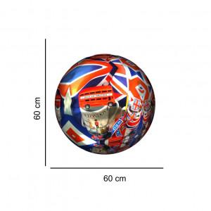 Sticker perete Globe London 3D