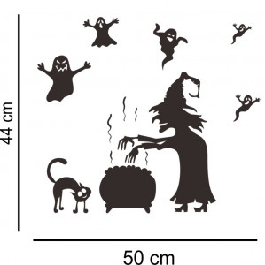 Sticker perete Halloween Decor 9
