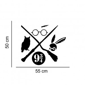 Sticker perete Harry Potter 3