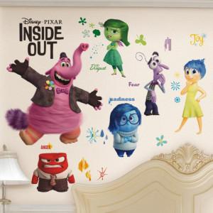 Sticker perete Inside Out Disney 60 x 40 cm