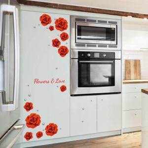 Sticker perete Love the rose modern romantic 60x90 cm