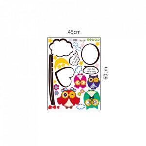 Sticker perete Lovely Owl 115 x 75 cm