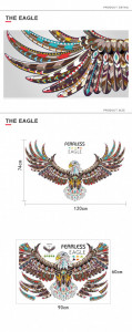 Sticker perete Magical Eagle